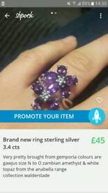 Brand new stwrling silver ring