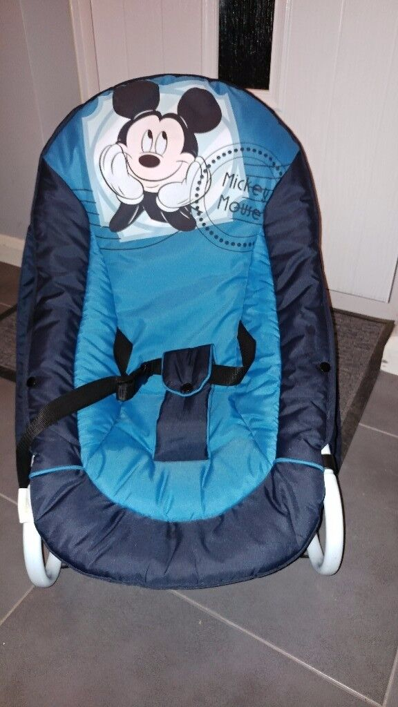 Mickey mouse hauck baby rocker