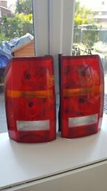 discovery 3 rear lights of 59 reg.