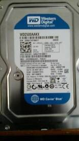 250GB HDD (desktop)