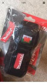 Rare Makita mobile phone holder embroidered with the Welsh dragon 🐉