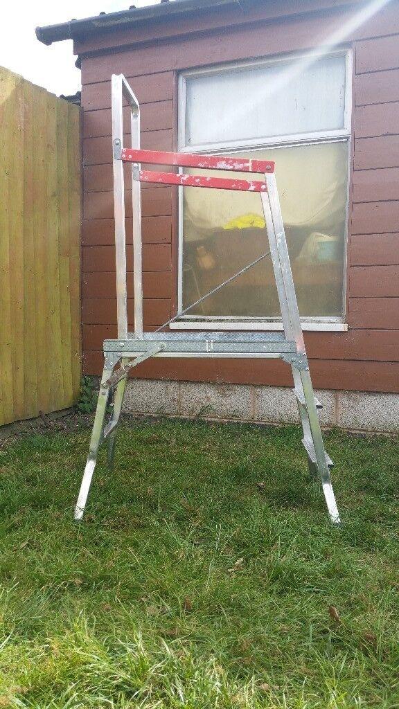 Beldray Jobezer Aluminium Folding Platform Step Ladder