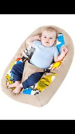 Mothercare baby bean bag/ snuggle bed