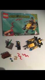 Very Rare Lego 7770 Aqua Raiders Deep Sea Treasure Hunt