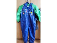 Boys All In One Rain Suit Ages 5 to 6