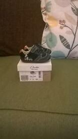 baby boys Clarks first shoes 3G