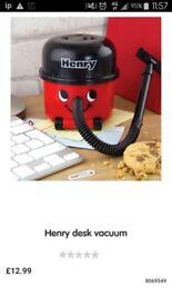 Henry desk vacuum London