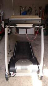 Gym/Spa standard electric motorised treadmill.