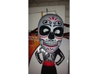 Mans mariachi fancy dress costume size medium hat and mask included