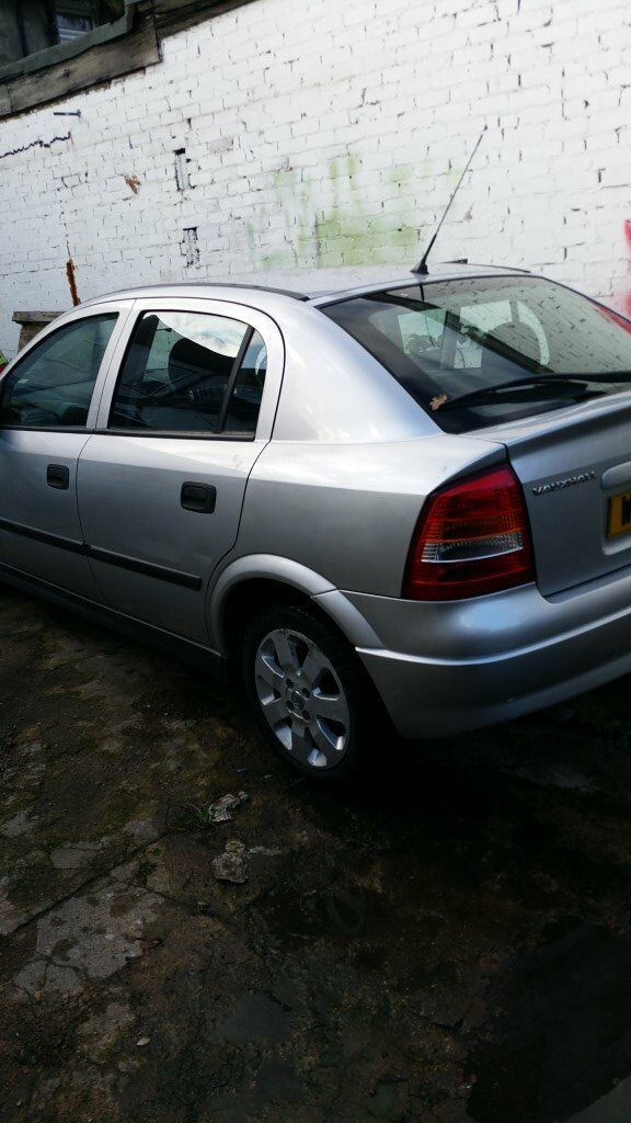 2004 VAUXHALL ASTRA AUTOMATIC LOW MILEAGE STARTS AND DRIVES