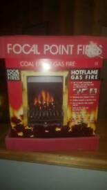 Gas Coal fire