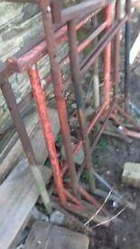 4 builders tressels used adjustable heights