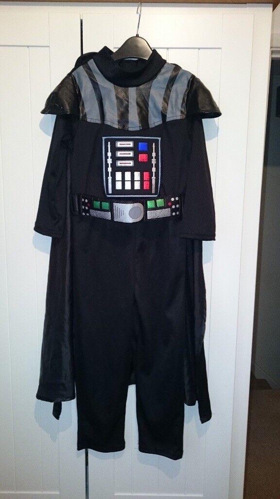 Star Wars Darth Vader Dress Up/Costume Size 5-6