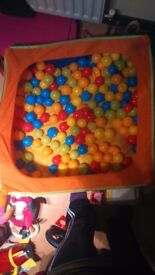 Ball pit and some balls