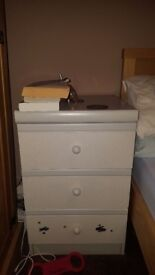 Bedside table/draws