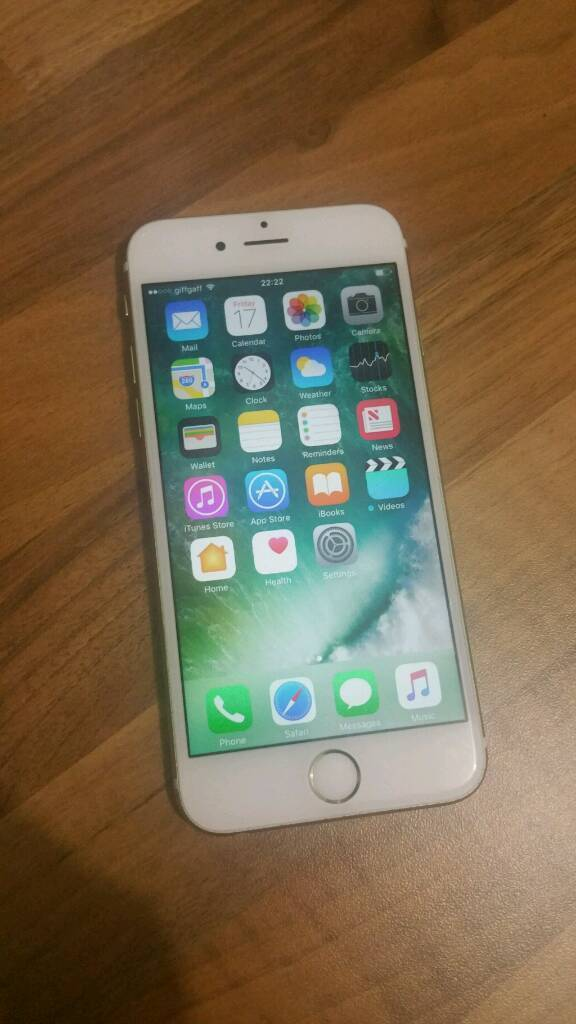 Apple iPhone 6S gold 16GB O2 giffgaffin Hall Green, West MidlandsGumtree - Apple iPhone 6s gold 16GB works on O2 and giffgaff phone does have a few marks as pictured but it is in full working order comes with a chargerno offers