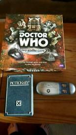 Dr Who, Pictionary and Pass the Pigs games
