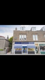 Bright and spacious renovated 2 bed maisonette in central Carnoustie