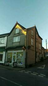 Convenience shop to rent (or flat and shop for sale)