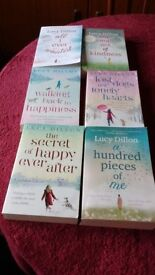 Six Books by Lucy Dillon.