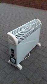 Electric fan heater £10.