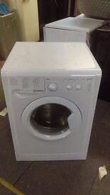 INDESIT 9KG WASHING MACHINE new ex display which may have minor marks or blemishes.