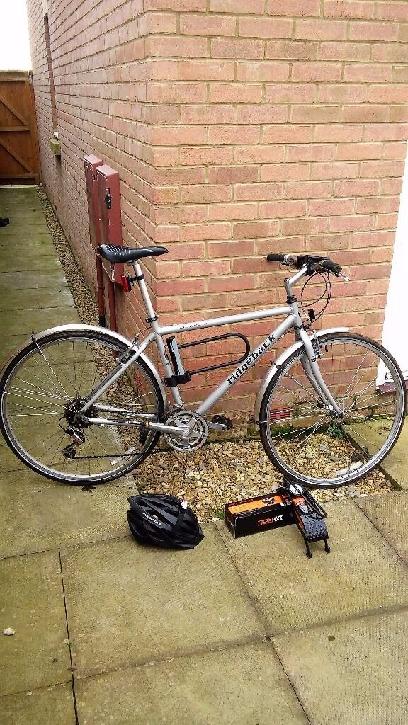 Silver Ridgeback Comet British Mens Bike In Swindon Wiltshire