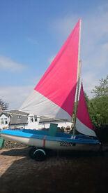 Skipper 14 Sailing/Rowing/Motor Dinghy