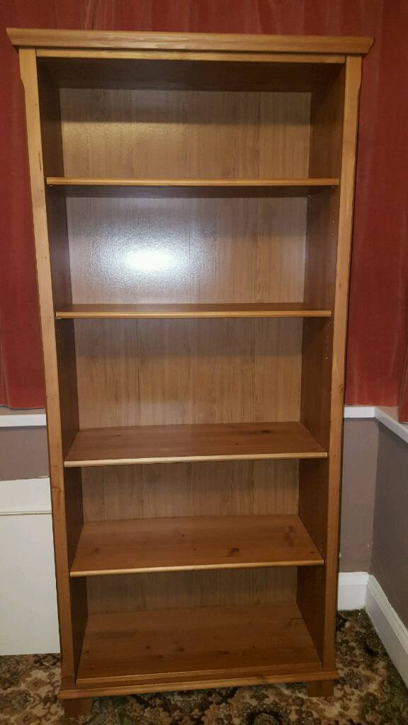 Ikea Markor Hemnes Antique Oak Colour Style Bookcase