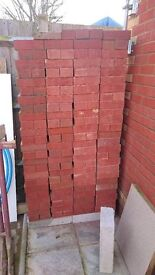Brand New Red and Yellow Bricks about 500 brick (£350