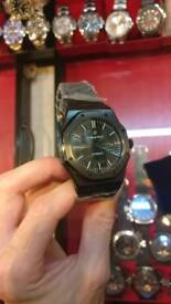 CUSTOM ALL BLACK AP ROYAL OAK AUTOMATIC ONLY ONE