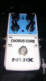 NUX Chorus Core effects pedal