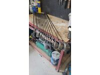 Complete set of Wilson X-31 golf clubs