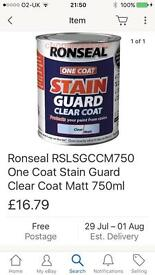 Ronseal Stain guard