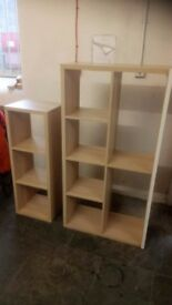 Matching set IKEA wood effect shelf units £20 COLLECTION only Stalybridge SK15 3DN