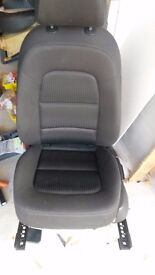 Audi A4 B8 (2008-2014) Black Seats - no rips or tears