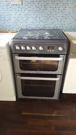 Hotpoint Ultima Gas Cooker - Graphite