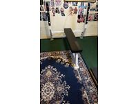 Olympic full commercial flat bench for sale £499 in fitness supertore we want £120 good condition