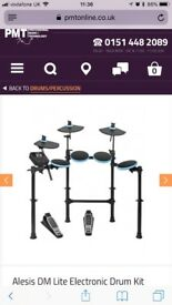 Alesis DM Lite Electronic Drum Kit And sub