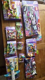 10 sets of Lego Friends Lego