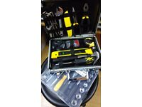 Socket Set and Hand Tool Set, excellent condition, fantastic deal, hardly used