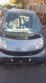 black SMART CAR fortwo pure61 auto- COUPE - LOW MILEAGE
