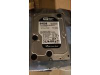 Western Digital Caviar Black WD6402AAEX 640GB SATA 6GB/s 7200rpm 64MB cache