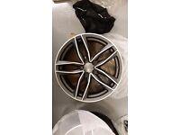 4NEW AUDI RS6 STYLE ALLOYS WHEELS VW A2 A3 A4 A5 A6 RS4 RS5 RS7 RS3 S1 S3 SEAT S4 S5 S6 A8 Q3 S LINE
