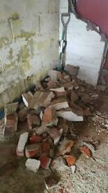 Rubble- broken bricks