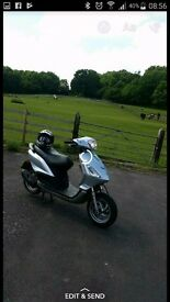 Piaggio Fly 50cc MOT till Jan 2018, well looked after, reliable good runner