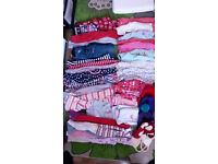 Girls 3-4 years clothes bundle 50 items, in good condition
