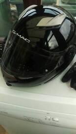 Motor bike helmet as new