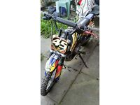 Pit bike, rolling midimoto and ither parts