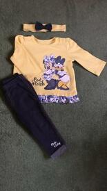 Baby girl outfit Disney outfit 6-9months in very good condition